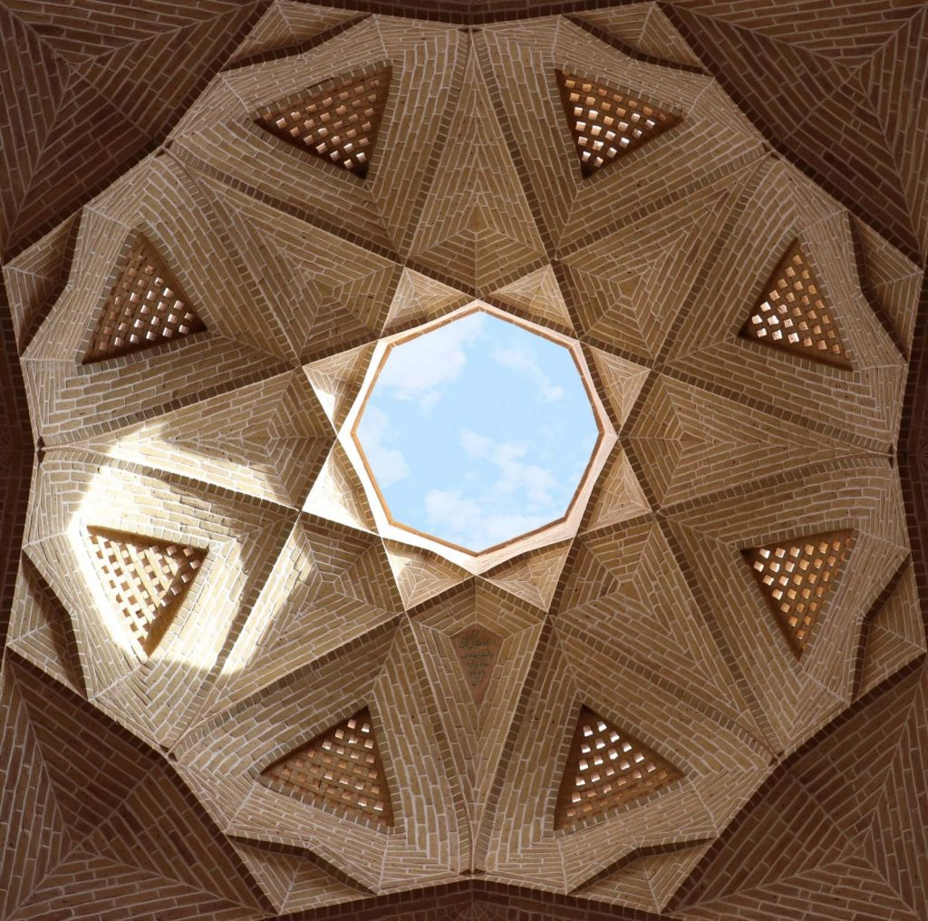 Fractals in traditional architecture
